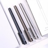 得力A13乐素金属中性笔0.5mm子弹头(黑) (单位:支)