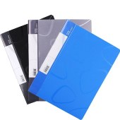 得力 5256 资料册 A4-60页 (单位:个) 蓝色