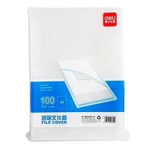 得力 5700 文件套 100只/包 (单位:包) 透明