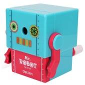 得力0740 100*81*86mm机器人削笔机(蓝色)(单位:只)