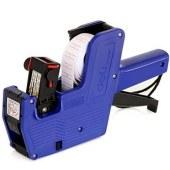 得力7501 8位单排标价机(蓝)(单位:盒)