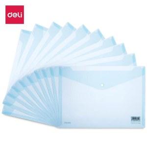 得力8308文件袋(蓝)(单位:个)