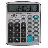 得力 1550A 语音型计算器普通计算器 154x120x38mm (单位:个) 银色