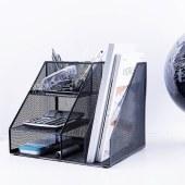 得力79075多功能文件框(黑)(单位:只)