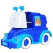 得力0623 172x85x115mm小汽车削笔机(蓝色)(单位:只)
