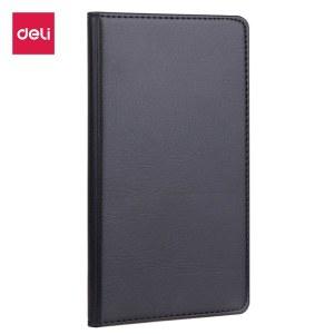 得力 7903 皮面笔记本 48K/80张 (单位:本) 黑