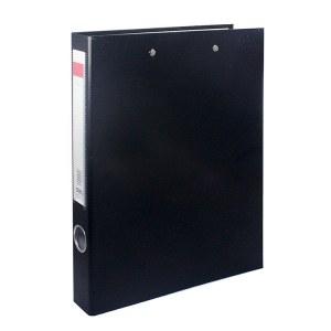 得力5456纸板文件夹(黑)(只)