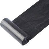 得力9588平底垃圾袋(黑)(5卷/包)450*500*0.007MM平底(单位:包)