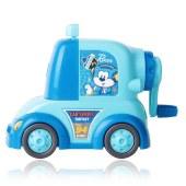 得力0730 138x71x100mm小汽车削笔机(蓝)(单位:只)