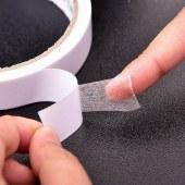 得力30415棉纸双面胶36mm*10y*80um(白)(8卷/筒)