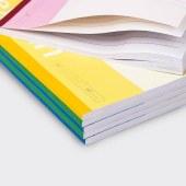 得力7664无线本笔记本作业本(混)-60页-B5(本)