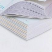 得力7988无线胶装软面笔记本(混)-58页-B5(本)