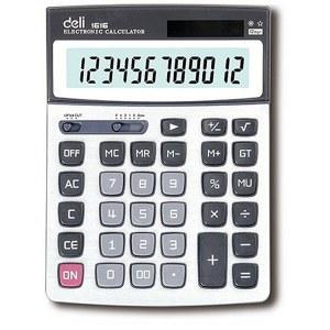 得力1616A计算器(蓝)(台)