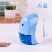 得力0519 116x65x103mm流线型削笔机(蓝色)(单位:只)