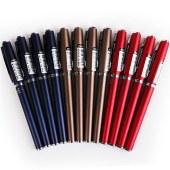 得力 S71 签字笔中性笔水笔 0.5mm 12支/盒 (单位:支) 黑色