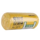 得力18816垃圾袋(黄)(30只/卷)