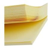 得力 9076 记事贴便签纸便利贴 76x76mm(单位:包) 黄