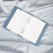得力22287万用手册-8.5in-210mm*145mm/100张(单位:本)蓝