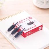 得力S640记号笔墨水(黑)(12支/盒)(单位:盒)