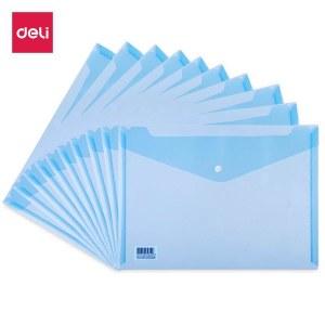 得力5505文件袋(蓝)(只)