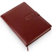 得力(deli)7945 16K 120页皮面笔记本(单位:本)棕色