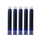 得力S645钢笔墨囊50支/桶(单位:桶)可擦纯蓝