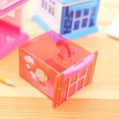 得力(deli)0615小屋削笔机(单位:只)红色