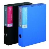 得力 5608 档案盒 (单位:只) 蓝