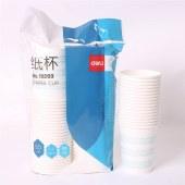 得力19203纸杯(白)(50只/包)228MLAPP240G纸+18GPE膜(单位:包)