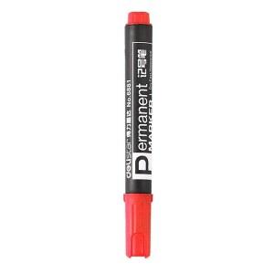 得力 6881 记号笔 1.5mm 10支/盒 (单位:支) 红
