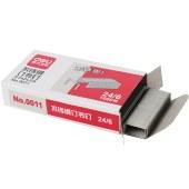 得力0011不锈钢订书钉 订书针12#(1000枚/盒)