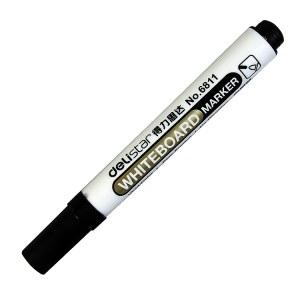 得力 6811 思达白板笔 2.0mm 10支/盒(单位:支) 黑