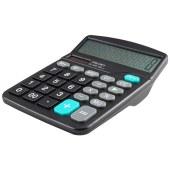 得力0838桌面计算器(黑)(台)