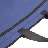 得力5845手提拉链袋(蓝)
